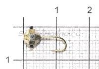 Мормышка Дробинка граненая с отверстием d5 001 серебро