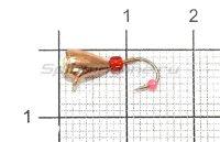 Мормышка Капля с напайкой с ушком d4 003 медь