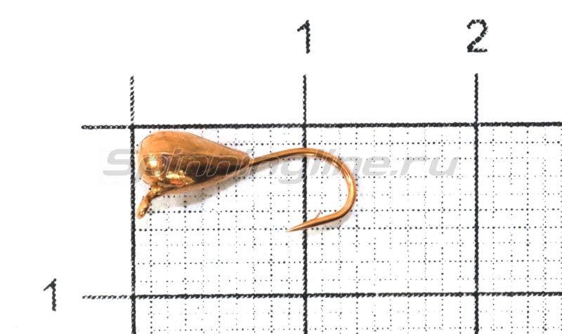 Nautilus - Мормышка Капля с ушком d3 003 медь - фотография 1