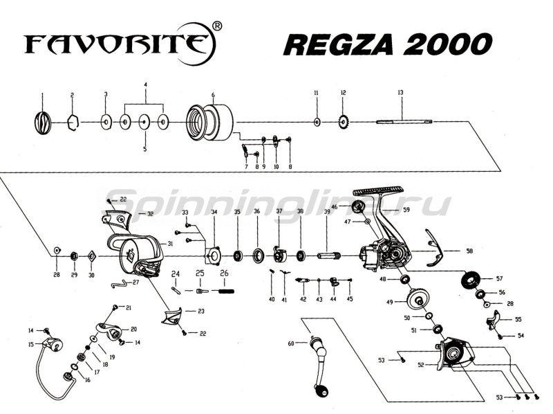 Favorite - Катушка Regza 13 2000 - фотография 7
