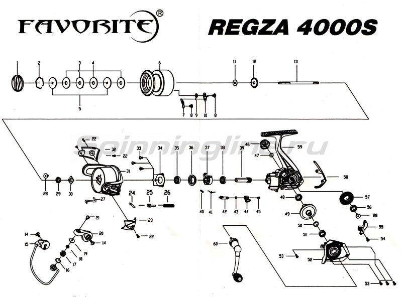 Катушка Regza 4000S -  6