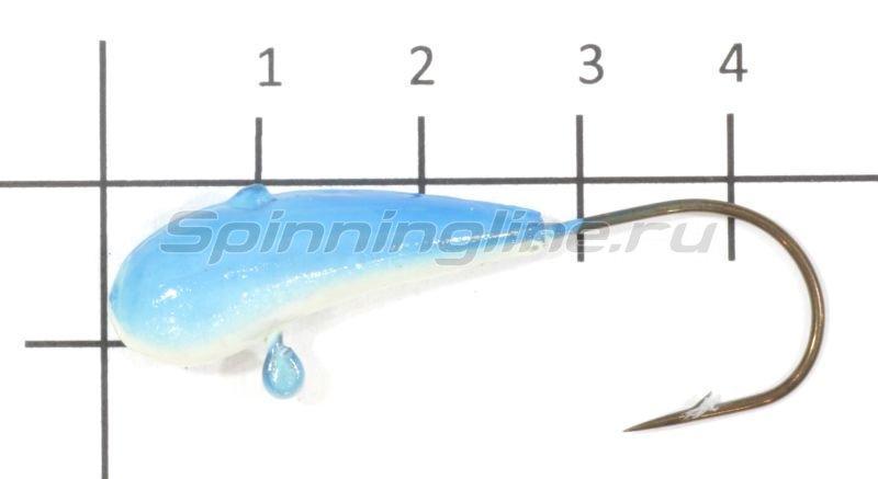 Fish Gold - Мормышка судаковая Уралка Светлячок 12гр 11 синий - фотография 1
