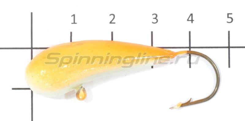 Мормышка Fish Gold судаковая Уралка Светлячок 22гр 09 оранжевый -  1