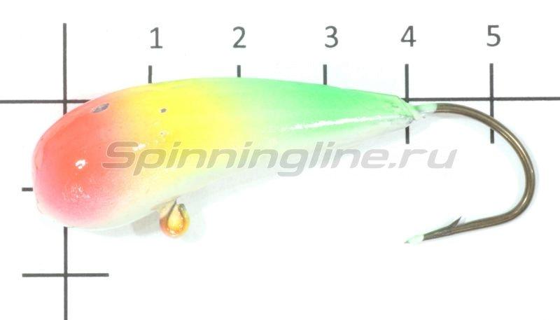 Fish Gold - Мормышка судаковая Уралка Светлячок 40гр тигровый - фотография 1