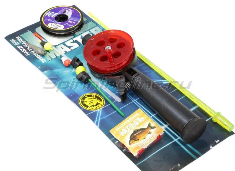 Набор для зимней рыбалки Три Кита Ice Master 4 люкс V1 - фотография 1