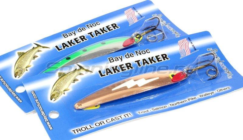 Блесна Bay De Noc Laker Taker 9061 Glo Paint -  2