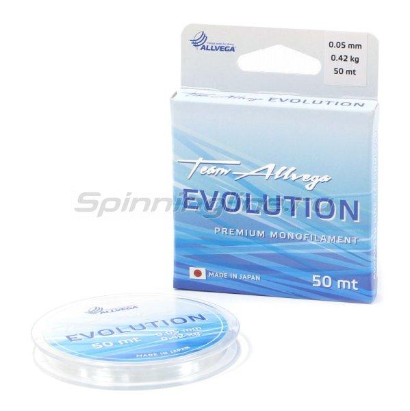 Леска Evolution 50м 0,09мм -  1