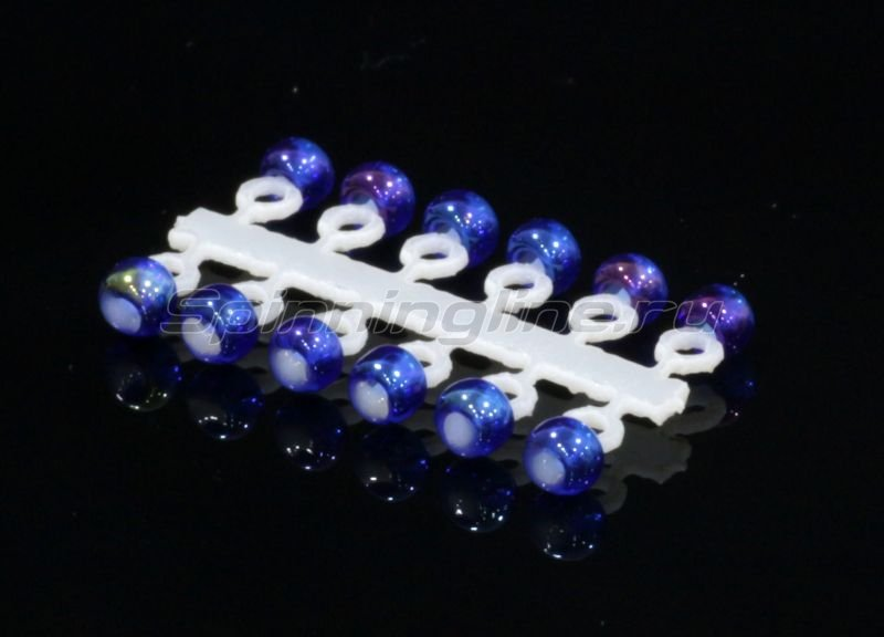 Левша-НН - Микро-Бис Шар 2,3 мм ирис синий - фотография 1