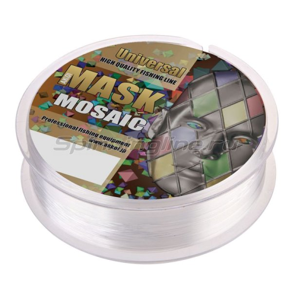 Леска Akkoi Mask Universal NT30 100м 0,125мм -  2