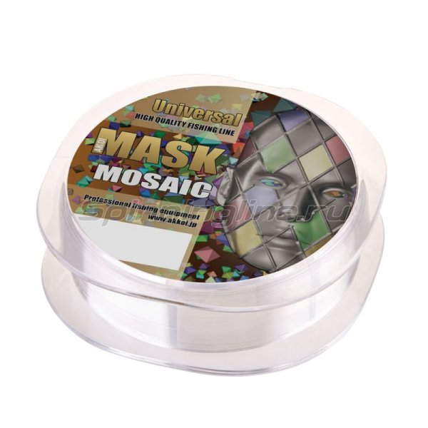 Леска Mask Universal NT30 50м 0,165мм -  3