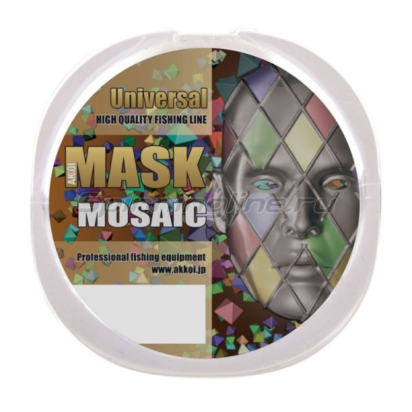 Akkoi - Леска Mask Universal NT30 50м 0,184мм - фотография 2