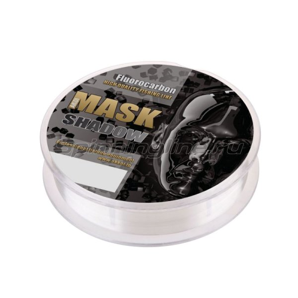 Akkoi - Флюорокарбон Mask Shadow 30м 0,296мм - фотография 3