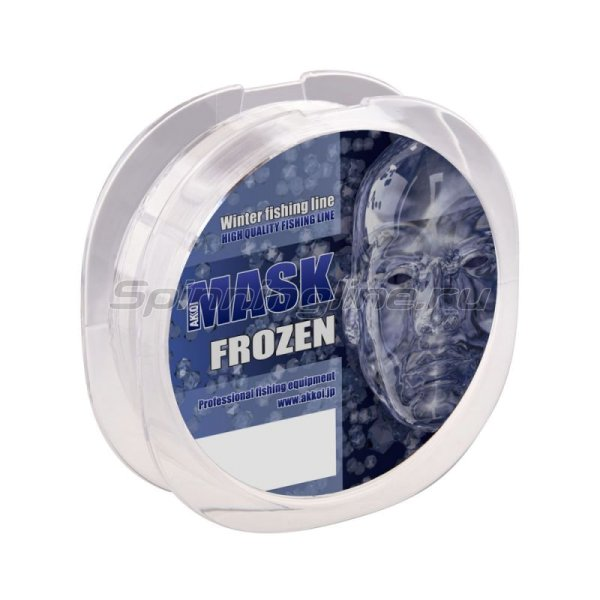 Akkoi - Леска Mask Frozen NT70 50м 0,100мм - фотография 2