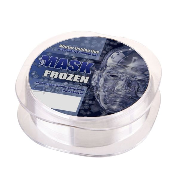 Akkoi - Леска Mask Frozen NT70 50м 0,100мм - фотография 3