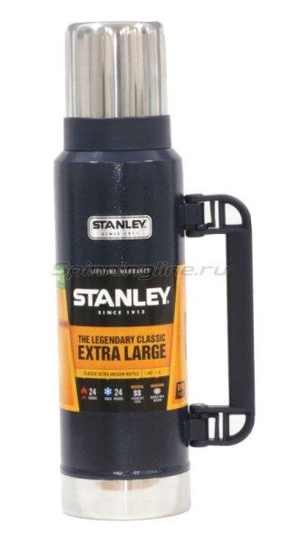 Термос Stanley Classic Vac Bottle Hertiage 1.3л. темно-синий - фотография 1