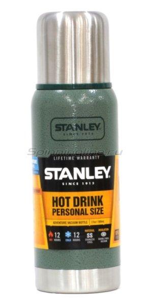 Термос Stanley Adventure 0.5л. зеленый/серебристый - фотография 1