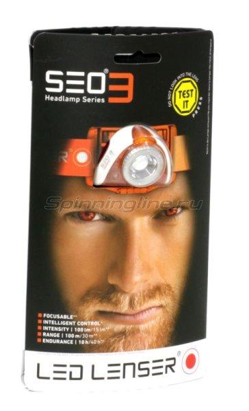 Фонарь Led Lenser SEO3 -  1