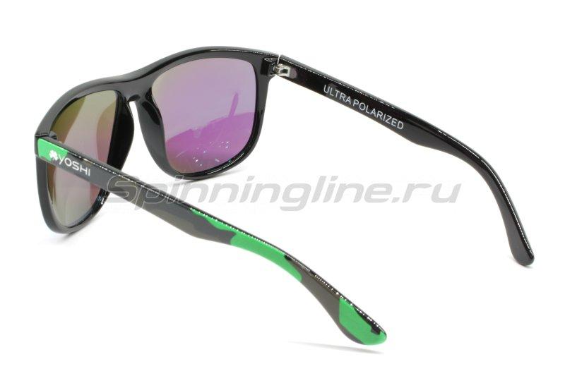 Очки Yoshi Onyx зеленый камуфляж/зеленые линзы - фотография 3