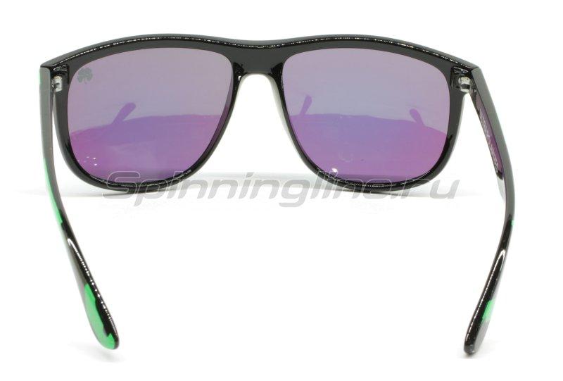 Очки Yoshi Onyx зеленый камуфляж/зеленые линзы - фотография 4