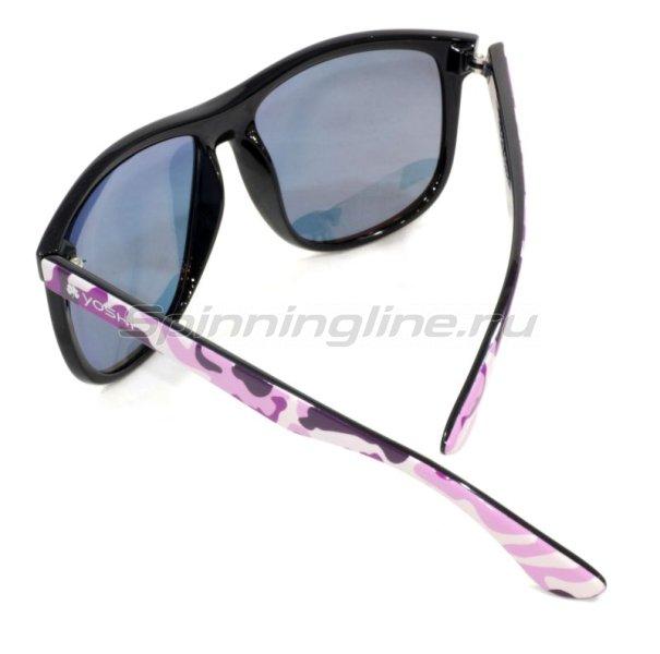 Очки Yoshi Onyx розовый камуфляж/красные линзы - фотография 2