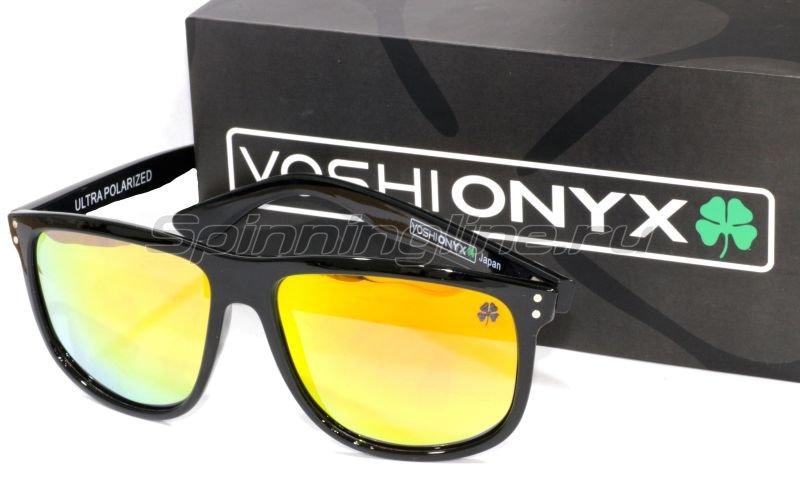 Очки Yoshi Onyx синий камуфляж/синие линзы - фотография 6