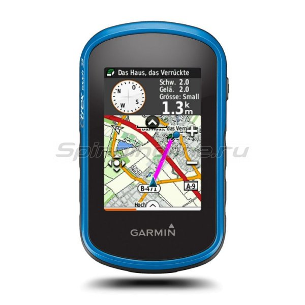 Garmin - eTrex Touch 25 GPS/GLONAS Russia - фотография 1