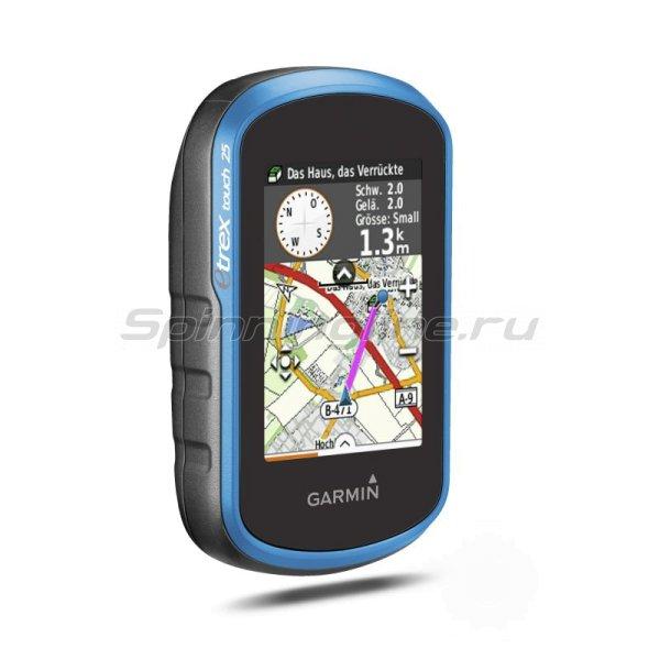 Garmin - eTrex Touch 25 GPS/GLONAS Russia - фотография 2