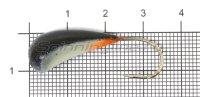 Мормышка Fish Gold судаковая Трехгранка Светлячок кр. Gamakatsu 10гр 01 черный