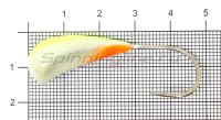 Мормышка Fish Gold судаковая Трехгранка Светлячок 18гр кр.Gamakatsu 07 лимонный
