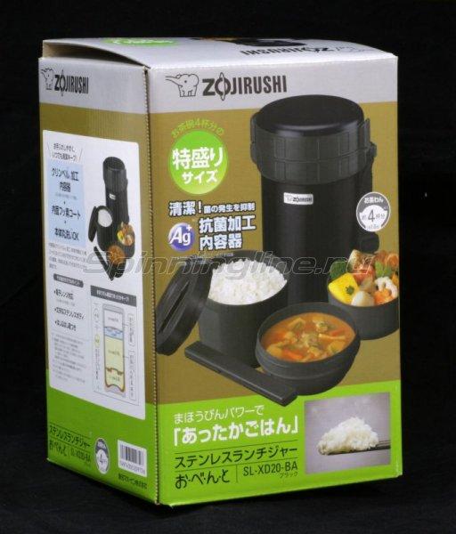 Термоконтейнер Zojirushi SL-XD(XB) 20-BA 2.0л черный -  3