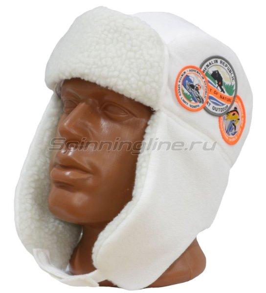 Шапка-ушанка Adrenalin Republic Helmet белая - фотография 1