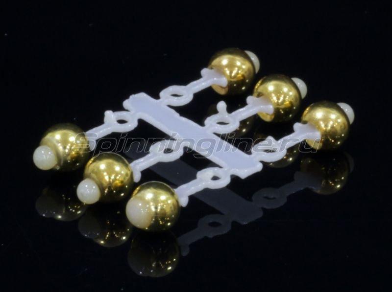 Левша-НН - Микро-Бис Латунь 3,2 мм золото - фотография 1