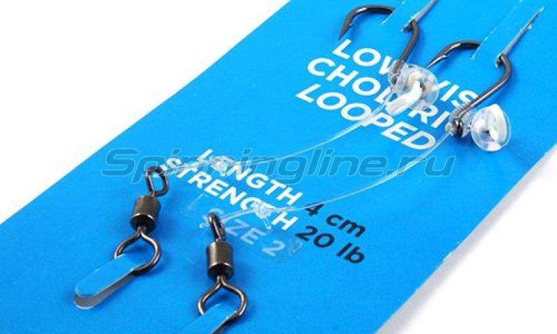 Nautilus - Оснастка волосяная Low Vis Chod Rig №6 4см 20lb - фотография 1