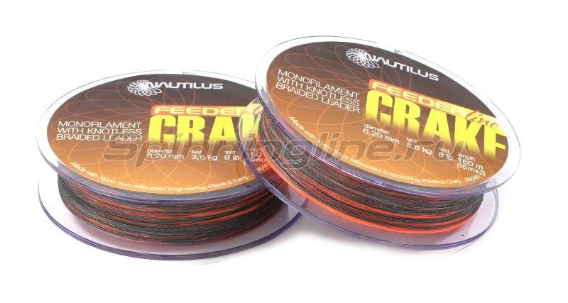 Леска Crake Shock Leader F.O.150м 0.18мм -  2