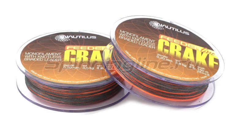 Леска Crake Shock Leader F.O.150м 0.22мм -  2