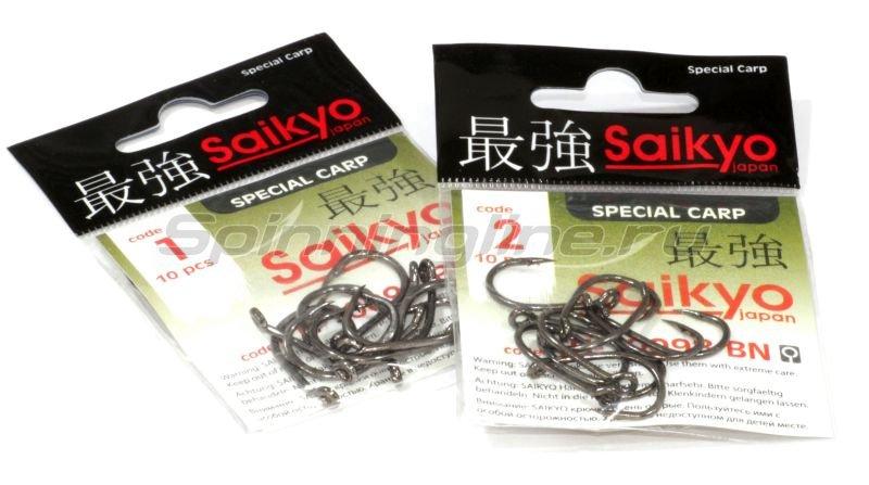Saikyo - Крючок Clever Carp KH-10098 №1 BN - фотография 3