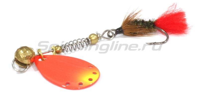 Extreme Fishing - Блесна Indeed R 2,5гр G-FluoRed - фотография 1