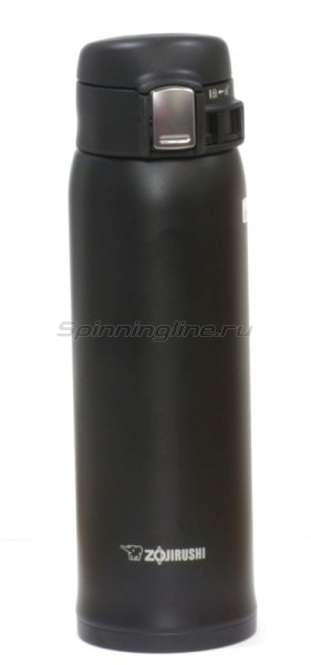 Термос Zojirushi SM-SA48 BA 0.48л черный - фотография 1