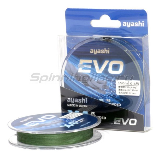 Ayashi - ���� Evo-X4 0,187�� dark green - ���������� 1
