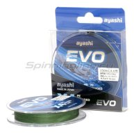 Шнур Ayashi Evo-X4 150м 0,209мм dark green