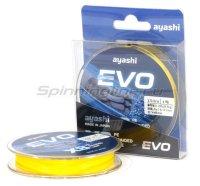 Шнур Ayashi Evo-X8 150м 0,187мм yellow