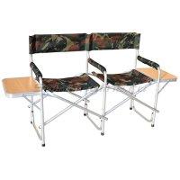 Кресло Кедр AK-07 складное двойное со столиком