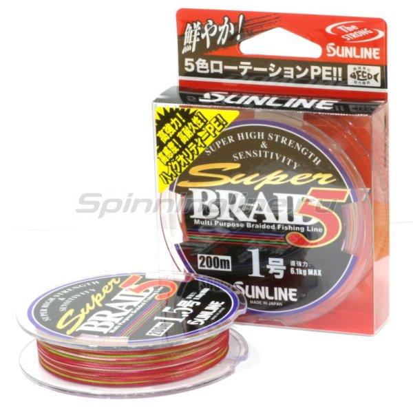 Шнур Super Braid 5HG 200м 0.6 -  1