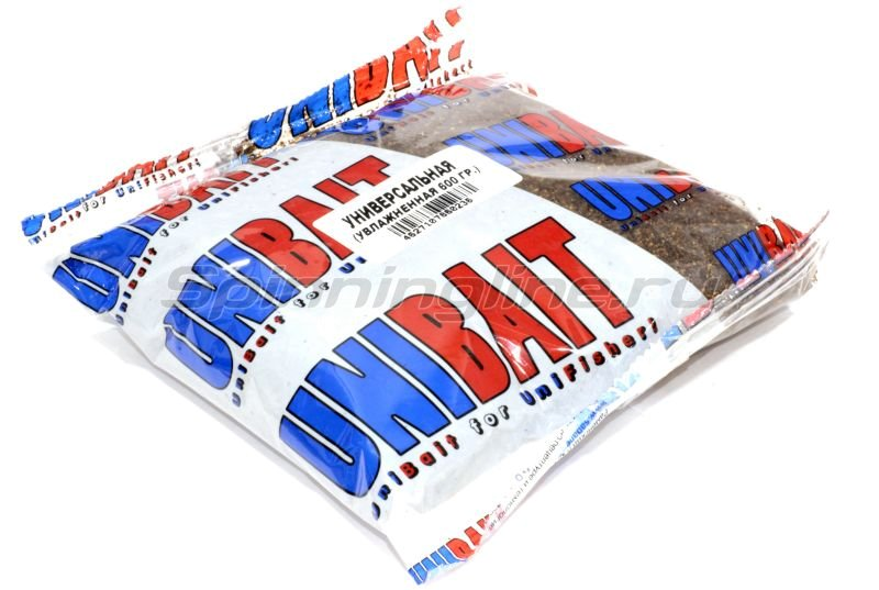 Прикормка увлажненная Unibait Ready Универсальная (600 гр.) -  1