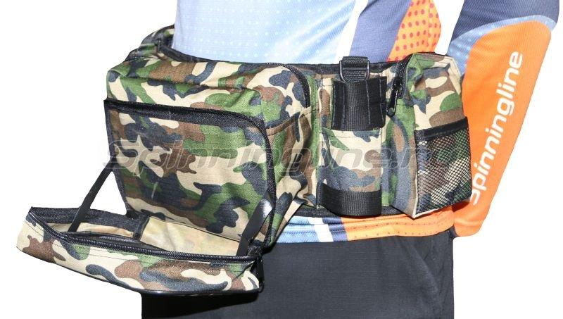 IdeaFisher - Поясная сумка+2 стакана Stakan-8 камуфляж - фотография 3