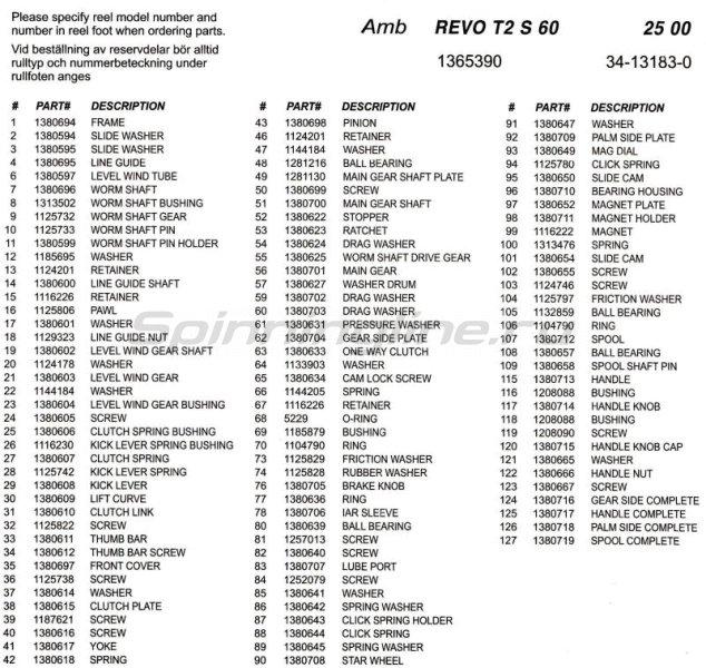 Abu Garcia - Катушка Revo Toro S 60 - фотография 5
