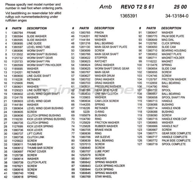 Abu Garcia - Катушка Revo Toro S 61 - фотография 5