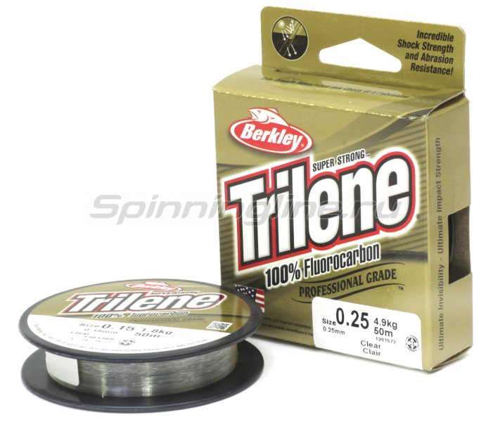 Berkley - Trilene 100% fluorocarbon New 50� 0,22�� clear - ���������� 1