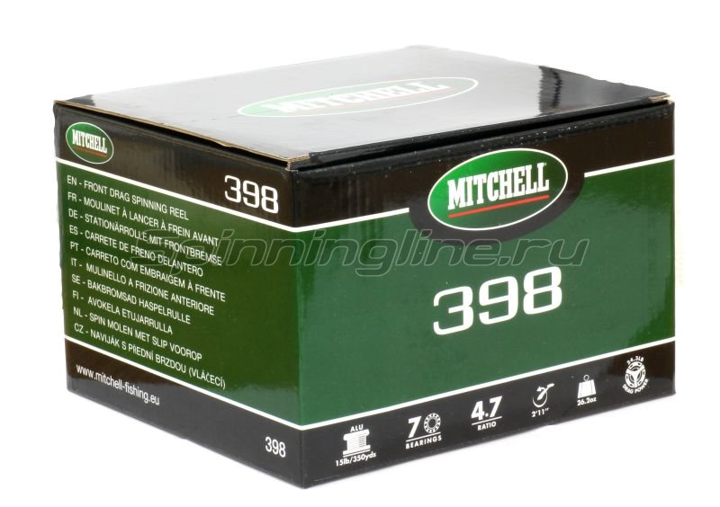 Катушка Mitchell 398 -  4