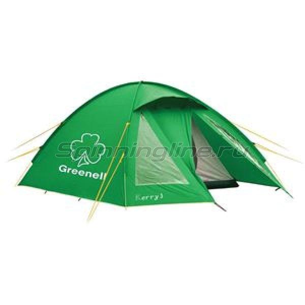 Greenell - Палатка туристическая Керри 2 V3 зеленый - фотография 1